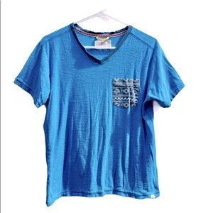 Free planet short sleeve pocket T shirt